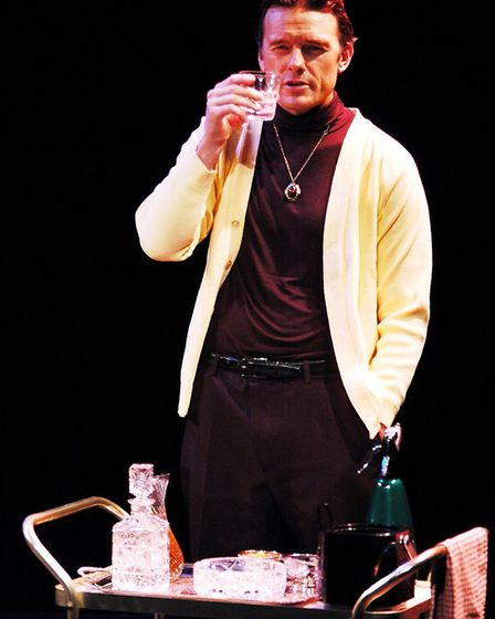 Rhodri Miles revives his performance as Richard Burton in the one-man show that is in Norfolk. Pictu