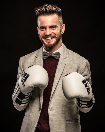 Poet and professional boxer Matt Windle is among those taking part in the FLY Festival in July 2017.