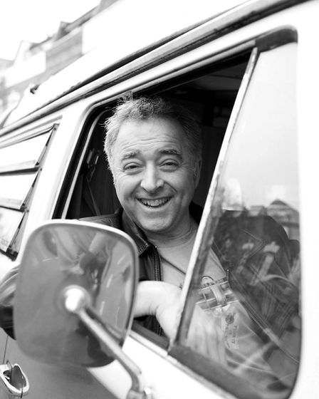 Author Frank Cottrell Boyce is among those taking part in the FLY Festival in July 2017. Photo: sup