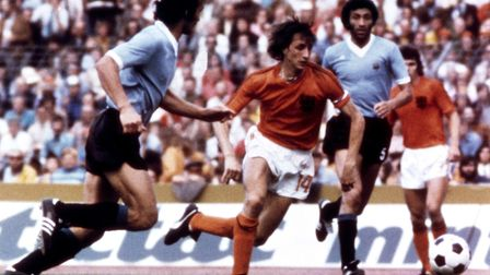 Johan Cruyff was the father of total football. Picture: PA/PA Wire.