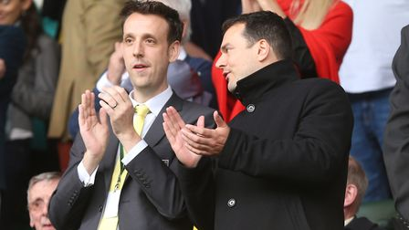 Sporting director Stuart Webber wants to build a new identity at Norwich. Picture: Paul Chesterton/