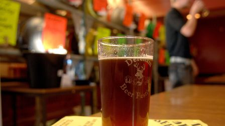 Beers will be downed in celebration at an upcoming festival in Wymondham. Photo: Denise Bradley