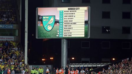 The Carrow Road big screen has been a big talking point this season, however it is through the other