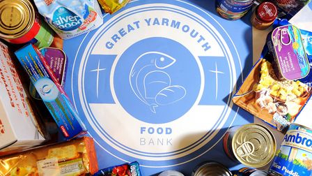 Launch of the Great Yarmouth Foodbank. Great Yarmouth Foodbank, run by volunteers and supported by