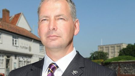 Glenn Tingle, chairman of UKIP in Norwich. Pic: Submitted.