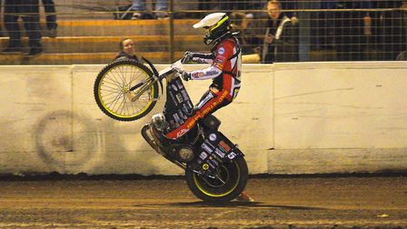 Craig Cook will guest for King's Lynn in Somerset. Picture: Ian Burt