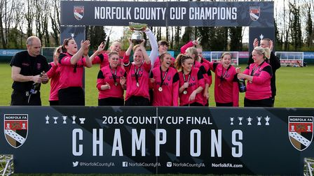 Thorpe United will be looking to keep their grip on the Norfolk Women's Cup. Picture: Norfolk FA