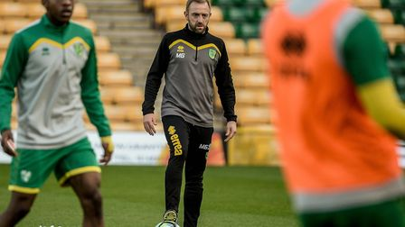 Matt Gill has taken charge of Norwich City Under-23s in recent months. Picture by Matthew Usher/Focu