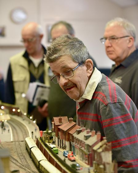The Rickinghall Model Railway Show. Picture: SONYA DUNCAN