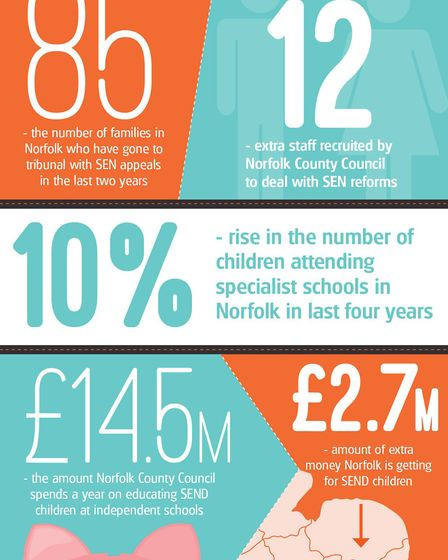 Special needs graphic Image: Archant