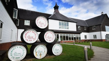 Photo essay. The English Whisky Company at St George's Distillery, Roudham, near Thetford.Picture: