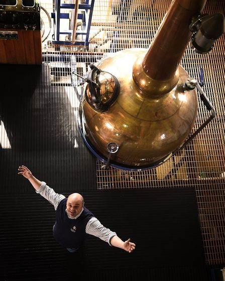 Photo essay. The English Whisky Company at St George's Distillery, Roudham, near Thetford. Owner And