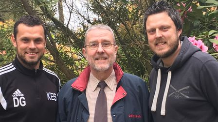 Dan Gay (left) and Mark Gay (right) will be climbing the three highest mountains in the UK with uncl