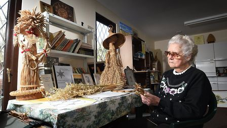 Norfolk Museum of Straw Works owned and curated by Ella Carstairs.Picture: ANTONY KELLY