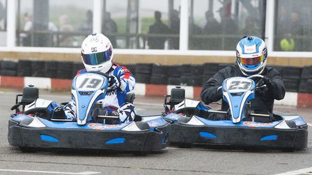 Go karting at Ellough Park Raceway near Beccles. Picture: Archant Library.