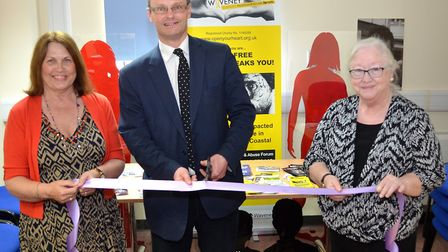 Waveney Domestic Violence and Abuse Forum celebrated their 35-year anniversary by opening their new