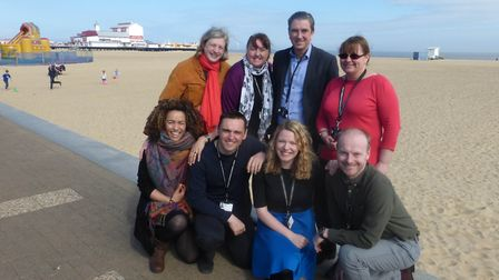 Members of Great Yarmouth Borough Council's Neighbourhoods That Work Team. Picture: GYBC