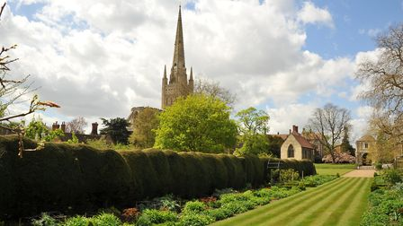 The Bishop's House Garden. PHOTO BY SIMON FINLAY