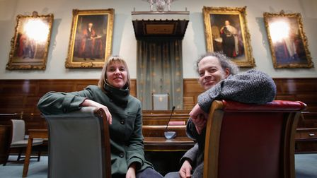 Sian Croose and Jonathan Baker, co-directors of The Voice Project. Picture: Joe Newman.