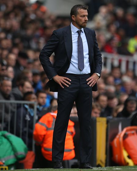 Fulham manager Slavisa Jokanovic has guided the Cottagers into the play-off mix. Picture: PA