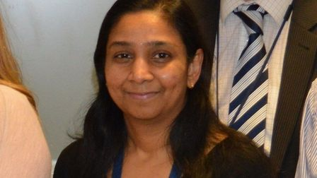 Dr Priya Muthukumar, consultant neonatologist. Picture: Archant Library