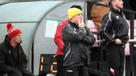 Wisbech Town manager Dick Creasey. Picture: Ian Carter