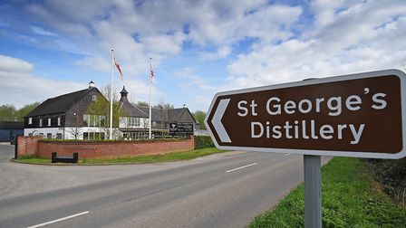 St George's Distillery, home of The English Whisky Company.Picture: ANTONY KELLY