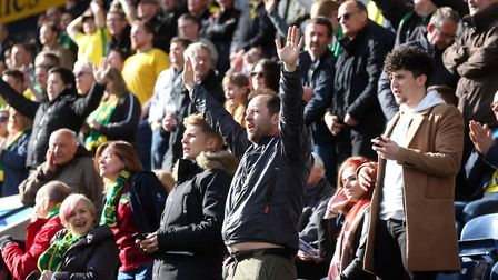 Would you be in favour of a safe standing section at Carrow Road? Picture: Paul Chesterton/Focus Ima