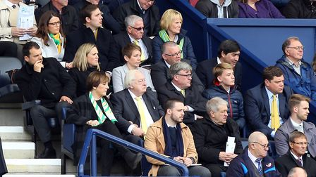 The Norwich board during the Sky Bet Championship match at Deepdale, PrestonPicture by Paul Chester