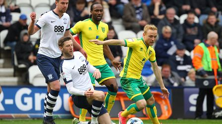 Alex Pritchard was involved in Norwich City's first two goals. Picture by Paul Chesterton/Focus Imag