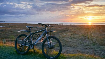 Cycling the broads - here at Bredon Water Picture Christopher Hill - Chill Photography