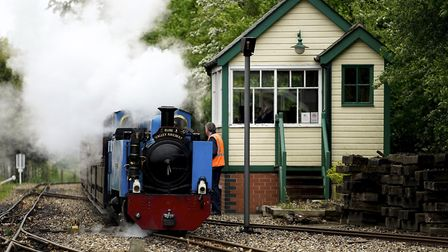 The Bure Valley Railway Picture: MARK BULLIMORE