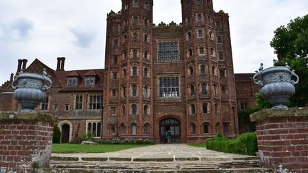 Layer Marney Tower is Britain's tallest Tudor gatehouse