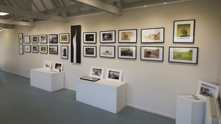 The previous exhibition by Josh Jaggard at Cley. Picture Josh Jaggard