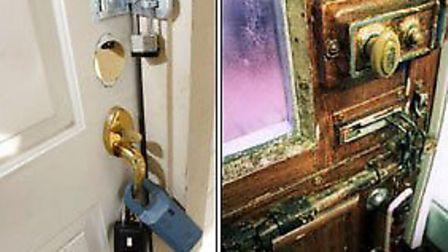 Police encourage poeple to lock their homes. picture: South Norfolk Police