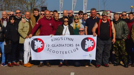 King's Lynn Gladiators Scooter Club. Picture: King's Lynn Gladiators