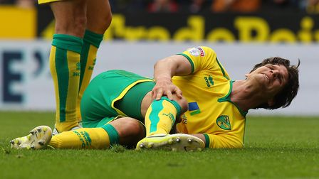 Timm Klose's knee injury will be assessed ahead of the Easter Monday trip to Fulham. Picture: Paul C