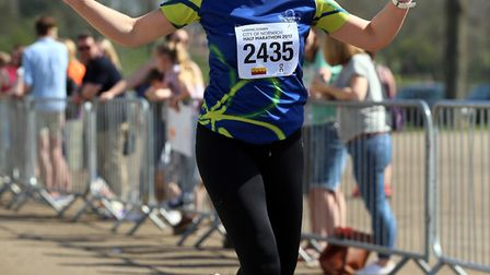 Julia Snowling, from Hellesdon, who is running the London Marathon for Alzheimer's Society. Picture: