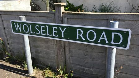 A resident in Wolseley Road has been upset by vandals.