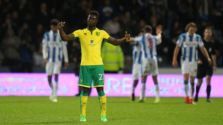 Alex Tettey missed the trip to Preston with a back spasm problem. Picture: Paul Chesterton/Focus Ima