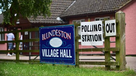 EU polling stations across the Waveney Valley. Blundeston. Picture: Nick Butcher