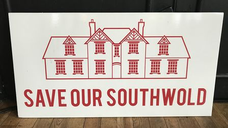 The Save Our Southwold hospital campaign group held a second public meeting. Picture: Amy Smith