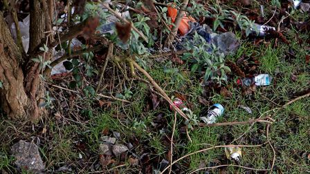 Coming to a hedgerow near you... yet more litter dropped by someone. Is it you? Picture: Chris Radbu