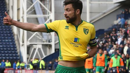 Russell Martin is set to make his 300th appearance for Norwich City tonight when the Canaries host B