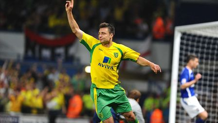 Russell Martin gets City's fourth. Picture: James Bass