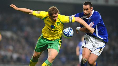 Grant Holt ensures there's never a minute's peace for Ipswich. Picture: James Bass