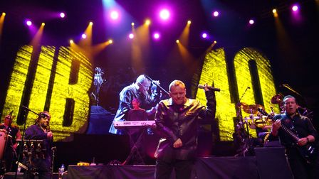 British reggae band UB40 are to perform at Holkham Hall in August. Photo: Yui Mok/PA Wire