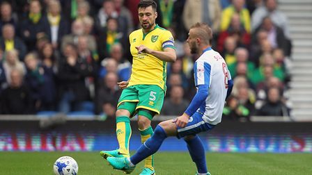 Russell Martin is set to make his 300th appearance for Norwich. Picture: Paul Chesterton/Focus Imag