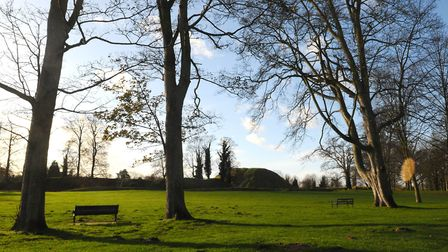 Thetford's Castle Hill and Park. Picture: Sonya Duncan