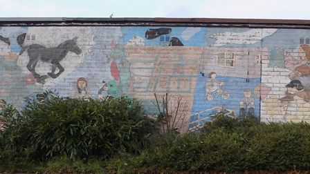 The community centre is hoping to reunite the original artists. Picture: Catton Grove Community Cent